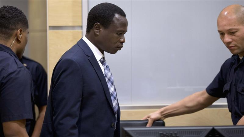 Dominic Ongwen arrives for a hearing in his trial at the ICC (Photo: Reuters)