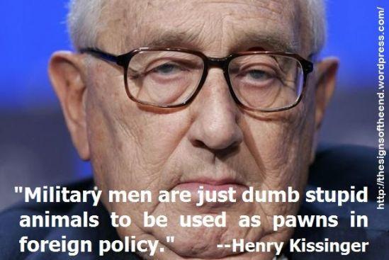 KISSINGER WAR MILITARY