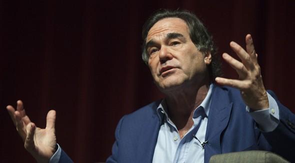 U.S. film director and screenwriter Oliver Stone. ©Ana Martinez